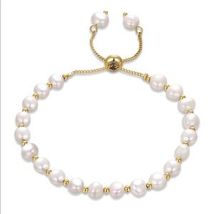 Dainty Pearl Bracelet Beaded New
